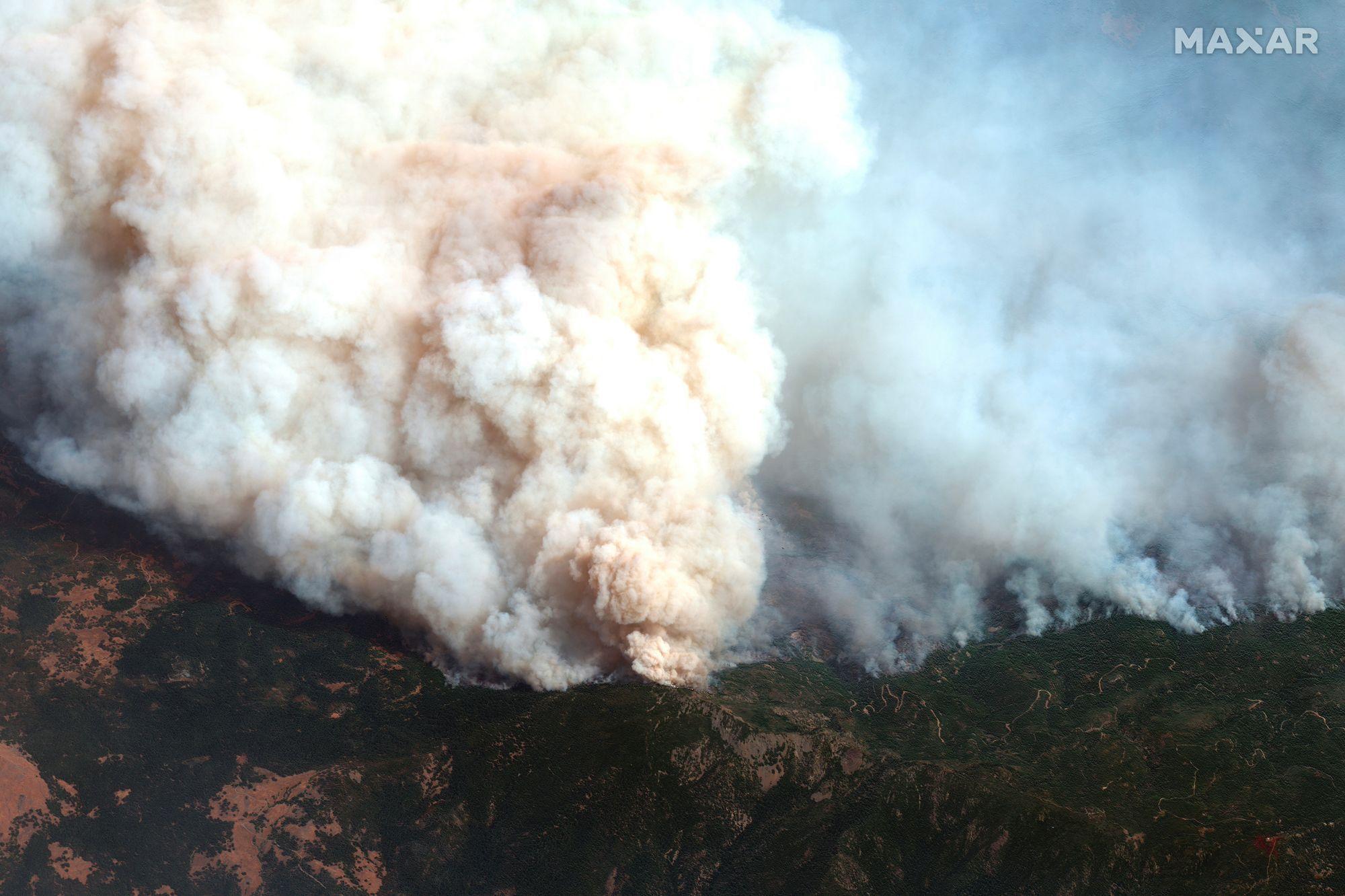 Incendies dans l'Ouest des Etats-Unis - 14 septembre