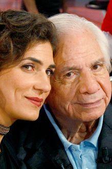Michel Galabru avec sa fille Emmanuelle chez Drucker