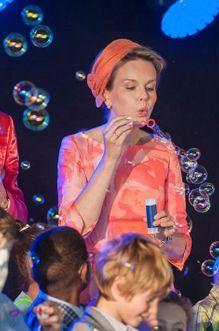 Mathilde, la reine des bulles