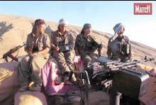 Femmes yézidies contre Daech