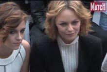 Vanessa Paradis et Kristen Stewart côte à côte pour le défilé Chanel