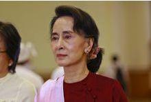 Aung San Suu Kyi absente pour raison de santé