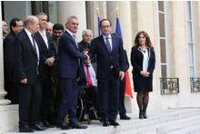 BHL emmène une délégation de Kurdes rencontrer Hollande