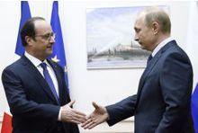 Rencontre surprise Hollande-Poutine à Moscou