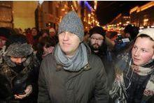 Navalny arrêté à sa manifestation de soutien