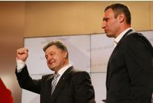 Porochenko revendique la victoire dès le premier tour