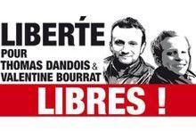 Les journalistes français condamnés mais bientôt libres