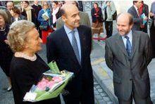 """Bernadette Chirac: Juppé est """"très très froid"""""""