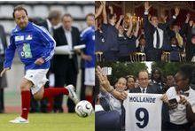 François Hollande, cet amoureux du foot