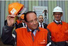 François Hollande retourne à l'usine