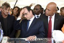Haïti, une étape tendue pour Hollande