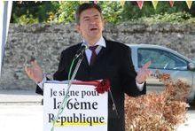 Jean-Luc Mélenchon passe la sixième