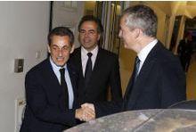 Nicolas Sarkozy, premiers pas à la tête de l'UMP