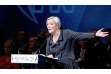 Sondage: Marine Le Pen buterait contre le front républicain
