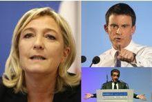 En duel face à Valls ou Sarkozy, Le Pen perd