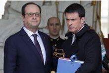Hollande et Valls dévissent
