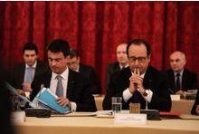 Hollande et Valls sur le toboggan