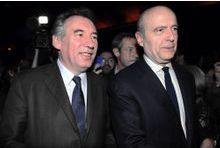 Juppé et Bayrou, ensemble au sommet