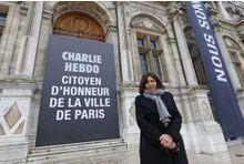 Charlie Hebdo, citoyen d'honneur de la Ville de Paris