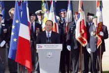Hollande rend hommage aux héros de l'ombre