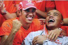 Son frère handicapé se lance dans la course