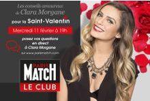 Dialoguez en direct avec Clara Morgane pour la St-Valentin