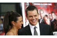 Matt Damon et Luciana: l'amour comme au premier jour