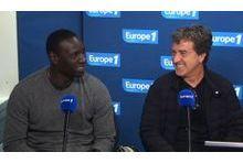 Omar Sy et François Cluzet, Les Intouchables à Europe 1