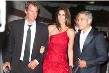 George Clooney au lit avec Cindy Crawford