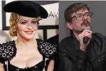 Madonna tombe dans les bras de Luz