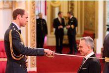 Le prince William l'appelle Sir Daniel