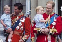 George, William, Charles... tel père, tel fils