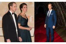 Kate et William ont reçu Benedict Cumberbatch