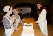 Visite royale à Downton Abbey