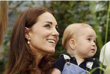 La duchesse emmène George à la piscine