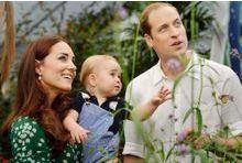Kate, William et baby George. Le foyer va s'agrandir