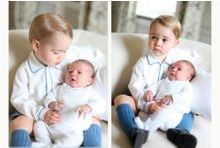 Prince George présente Baby Charlotte