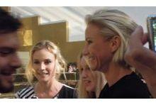 Atelier Versace: L'impression de Diane Krüger