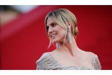 """Heidi Klum. Elle est """"verliebt"""" de Martin"""