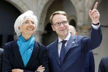 """Christine Lagarde évoque un """"Grexit"""""""