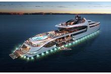 Le Mega Yacht qui devrait bientôt voir le jour