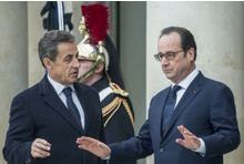 "Hollande ""garde au chaud"" Sarkozy"