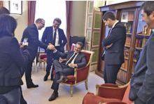 "Nicolas Sarkozy la joue ""détendu"""