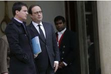 Hollande +21 points, Valls +17