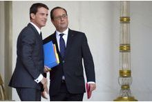 Hollande au point mort, Valls en recul