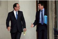 Sondage.  Valls-Hollande, un couple inégal