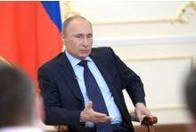 Vladimir Poutine sort de son silence