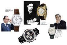 Les montres au pouvoir