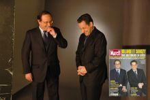 Quand Hollande et Sarkozy posaient ensemble