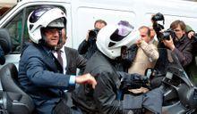 François Hollande : la course en tête